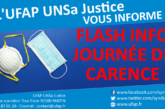 Flash Info : Journée de Carence